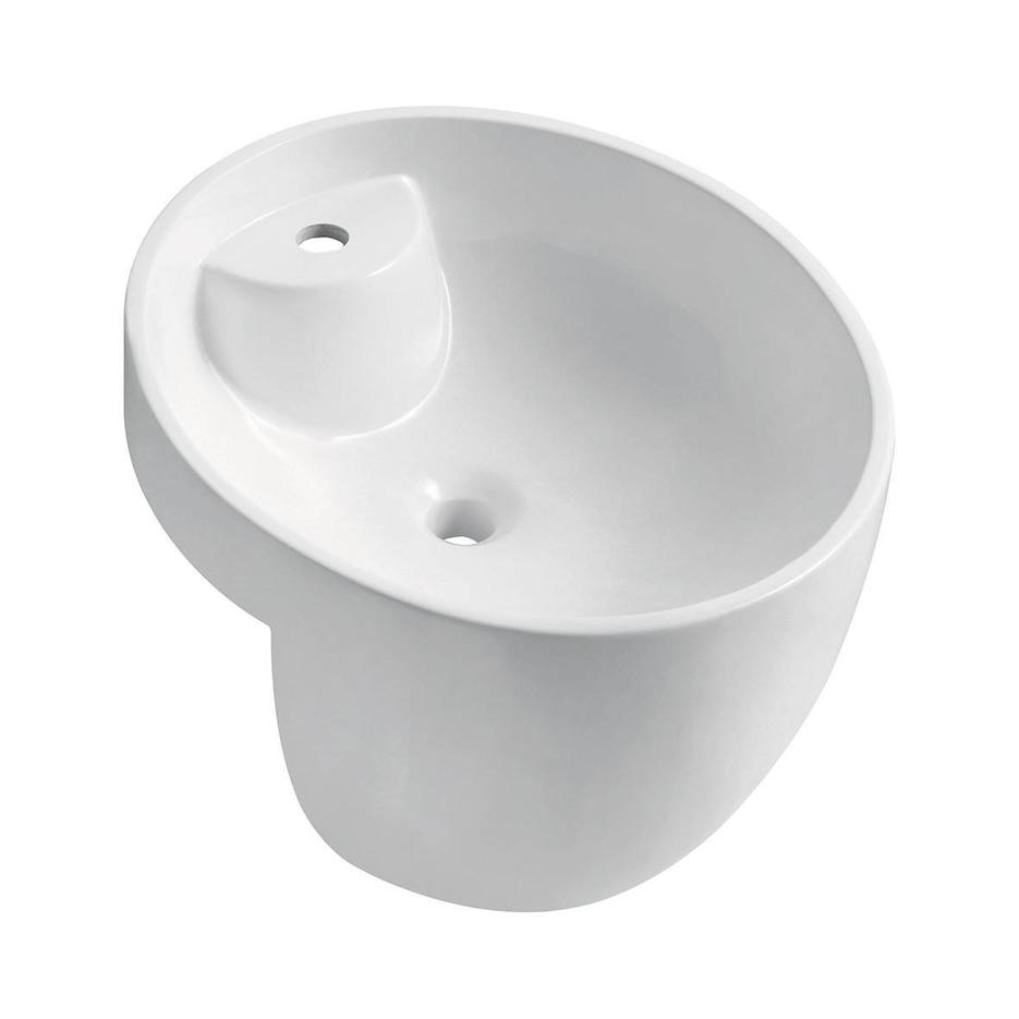 Artificial Stone Basin for Cabinet