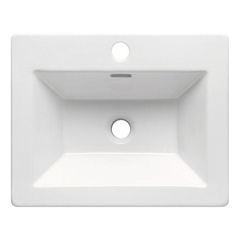 Ceramic Washbasin for Cabinet - Evergreen Small Series