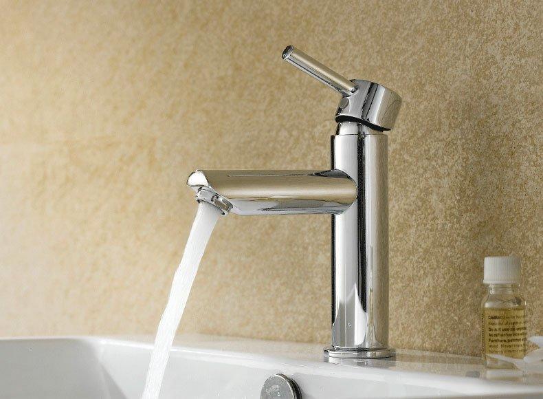 Brass Body Zinc Handle Faucet & Shower - L series