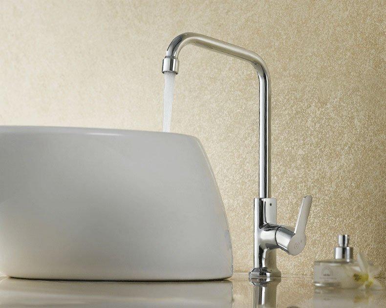 Brass Body Zinc Handle Faucet For Kitchen Sink & Artistic Basin - 003 Series