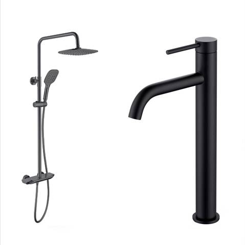 Bathroom Faucet And Shower - Dura Series