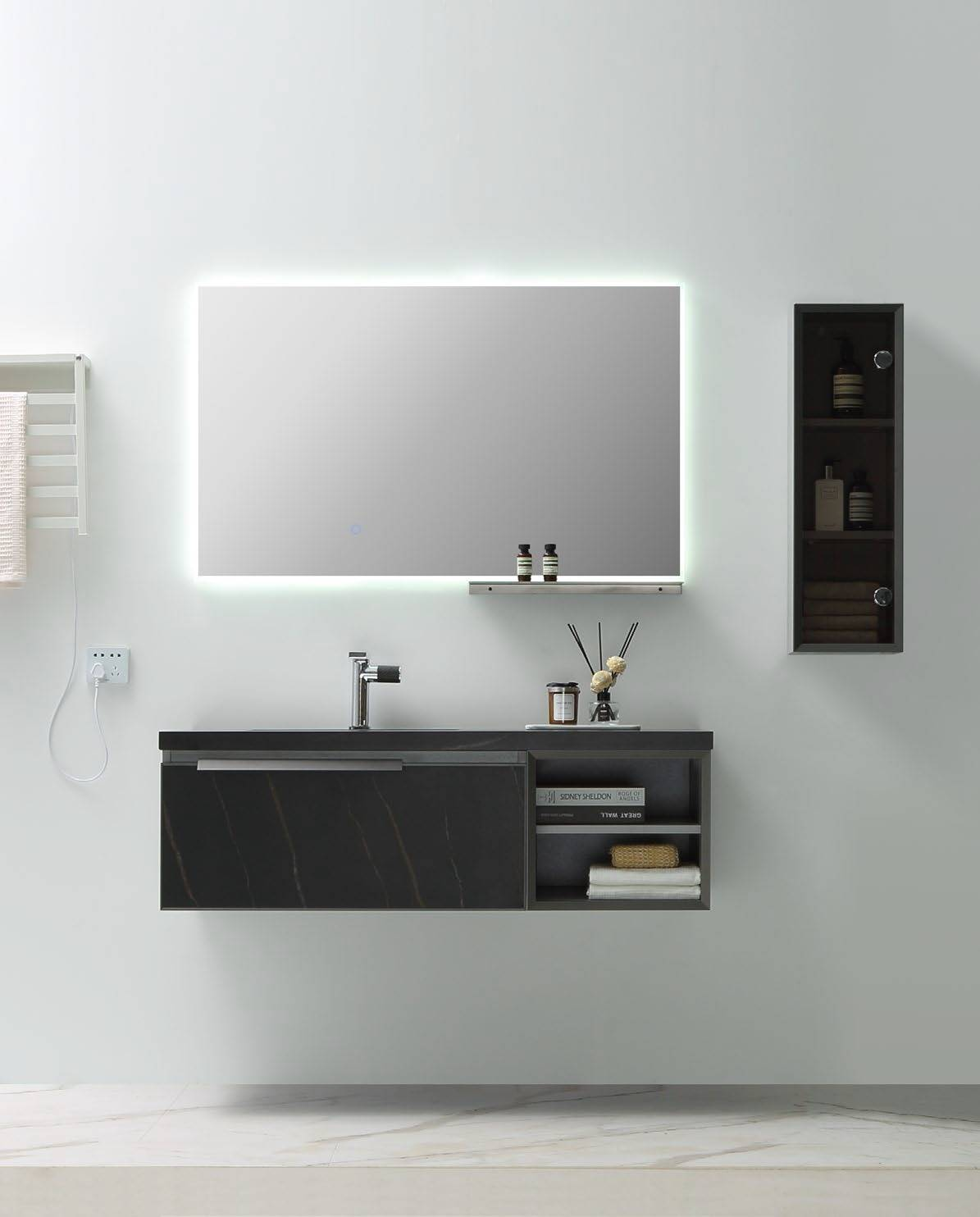 Free Combination Wall Mounted Bathroom Cabinet - Aurora Series
