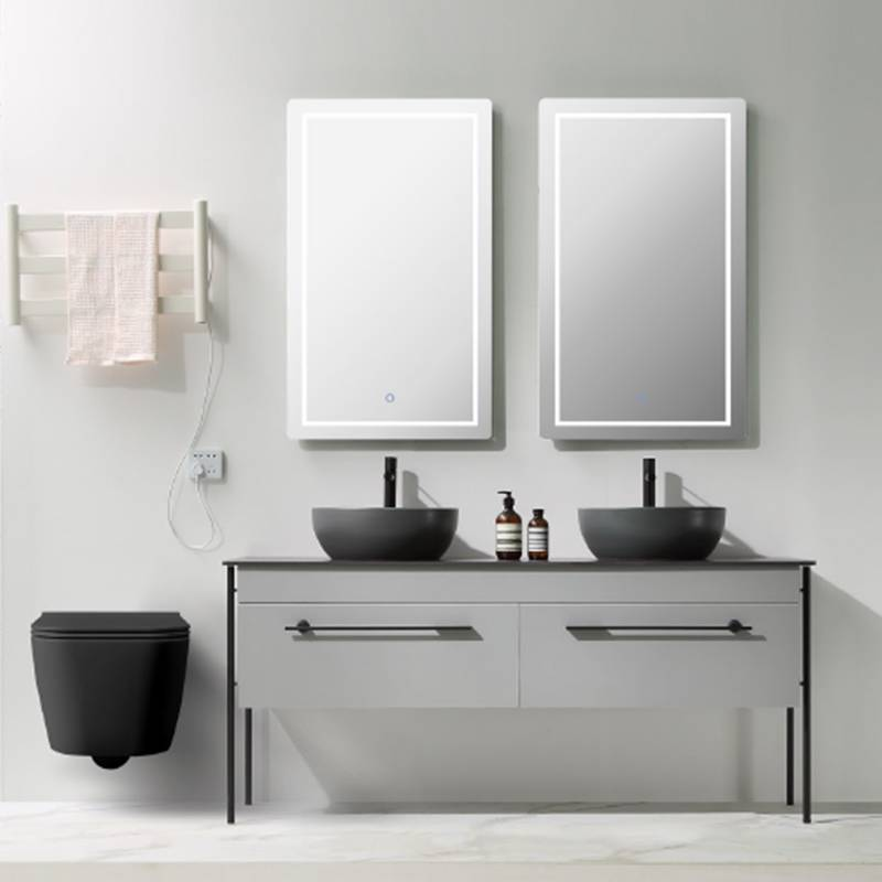 Floor Standing Bathroom Cabinet with Drawers - Gracia Series