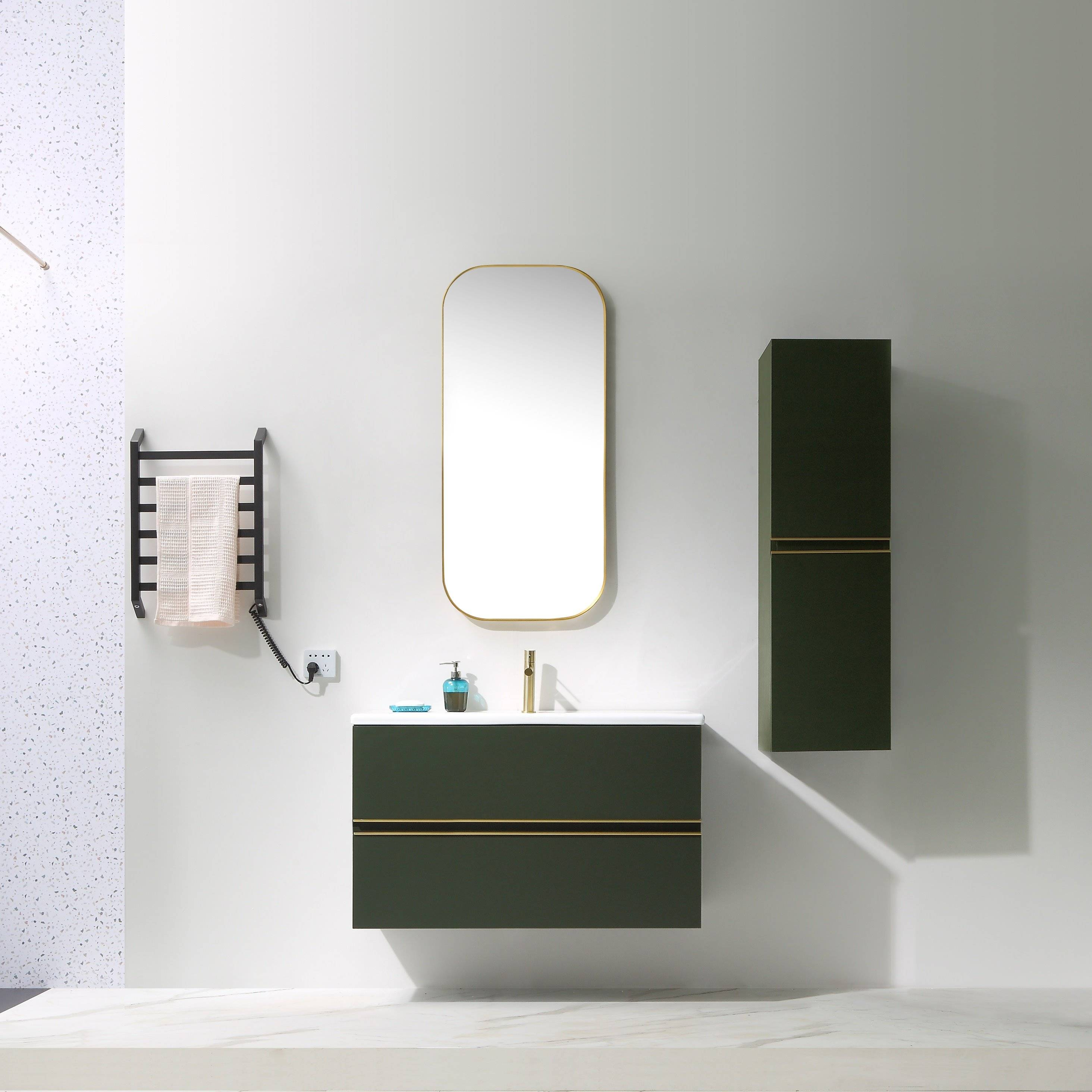 Free Combination Wall Mounted Bathroom Cabinet - Lurssen Series