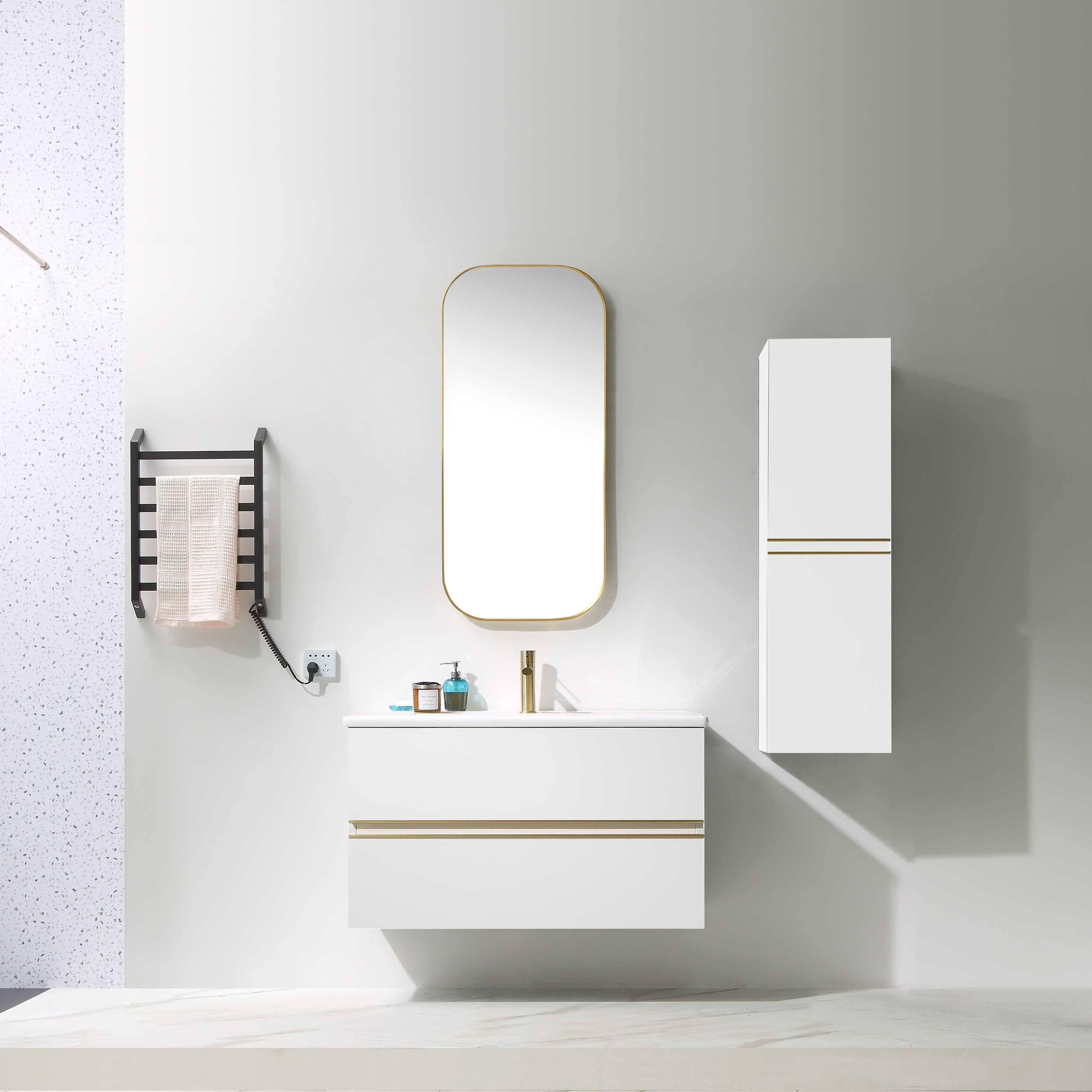 Free Combination Wall Mounted Bathroom Cabinet - Lurssen Series