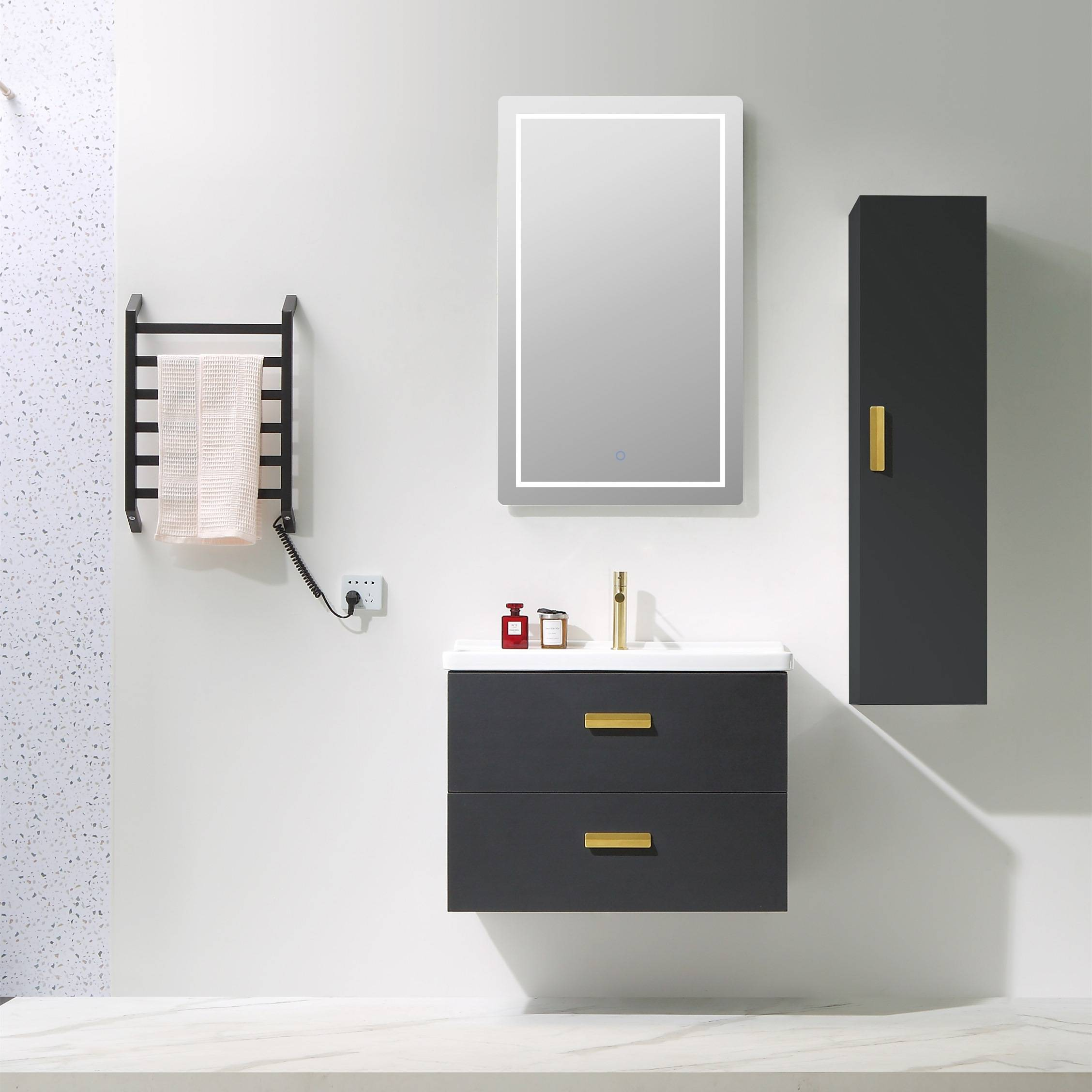 Free Combination Wall Mounted Bathroom Cabinet - Rodas Series