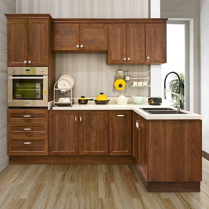 Waterproof Plywood with Melamine Surface Kitchen Cabinet - Hyde Series