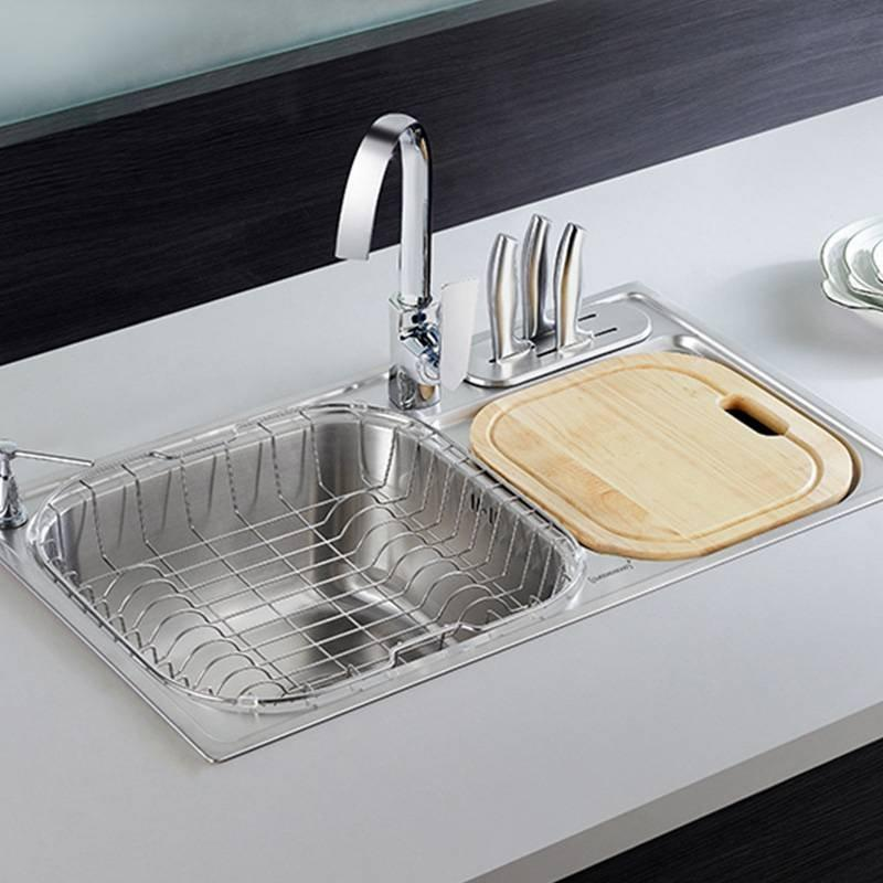 Chrome Plated Kitchen Sink 2019F