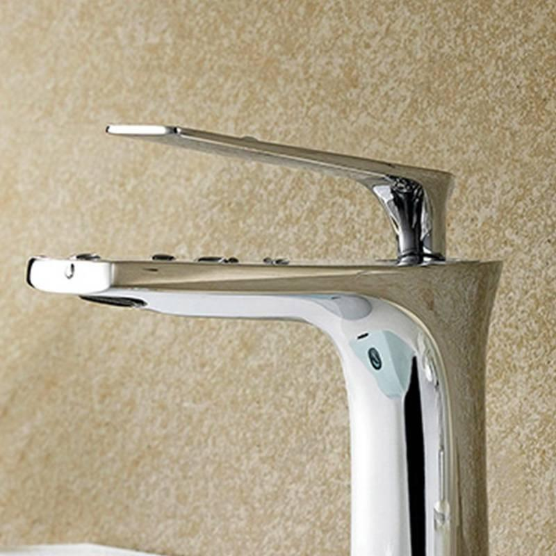 Brass Body Zinc Handle Faucet & Shower - H2 Series