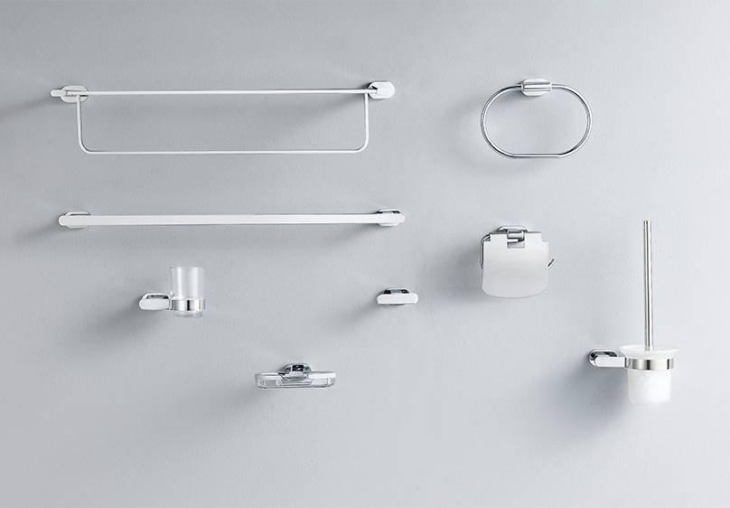 Brass Chrome Plated Bathroom Hardware - M2 Series