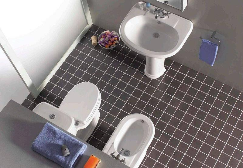 Ceramic Sanitary With Toilet, Bidet & Washbasin With Pedestal - Liza Series