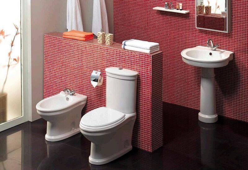Ceramic Sanitary With Toilet, Bidet & Washbasin With Pedestal - Primo Series