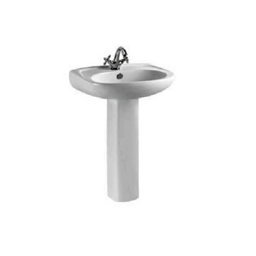 Ceramic Washbasin With Pedestal - Boen Series