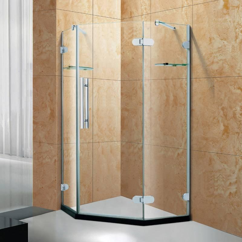 Brass Hinges Shower Enclosure - 5 Series