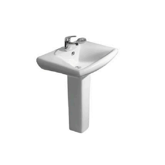 Pedestal Ceramic Washbasin - Kandy Series