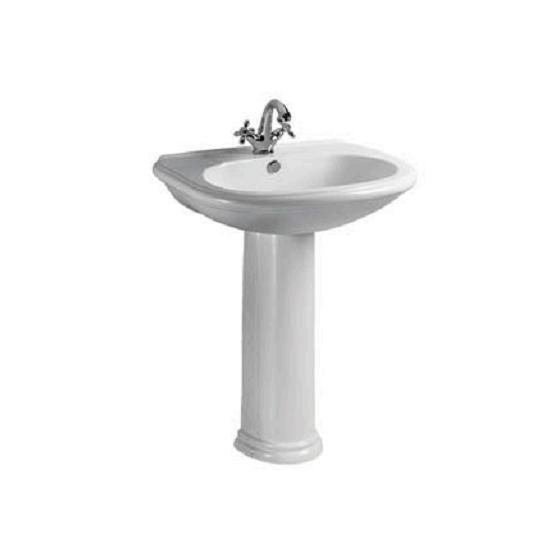 Ceramic Washbasin With Pedestal - Liza Series