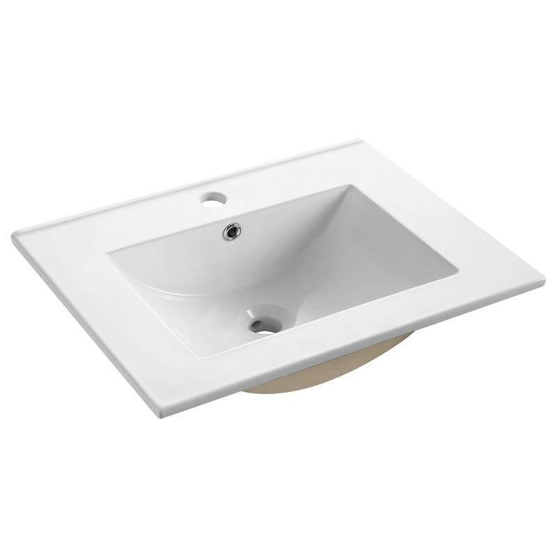 Ceramic Washbasin for Cabinet - Peony Series