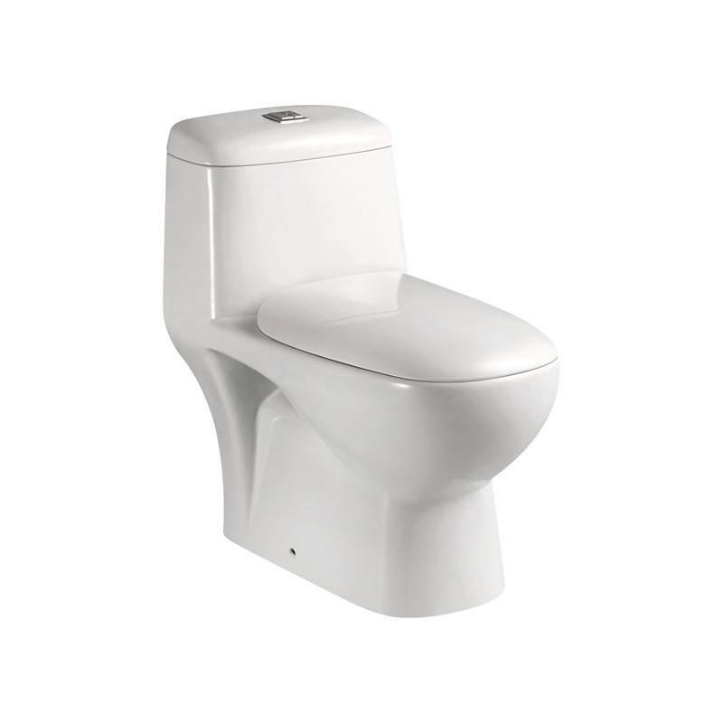 Europe Standard Washdown One-Piece Toilet, S-Trap Or P-Trap