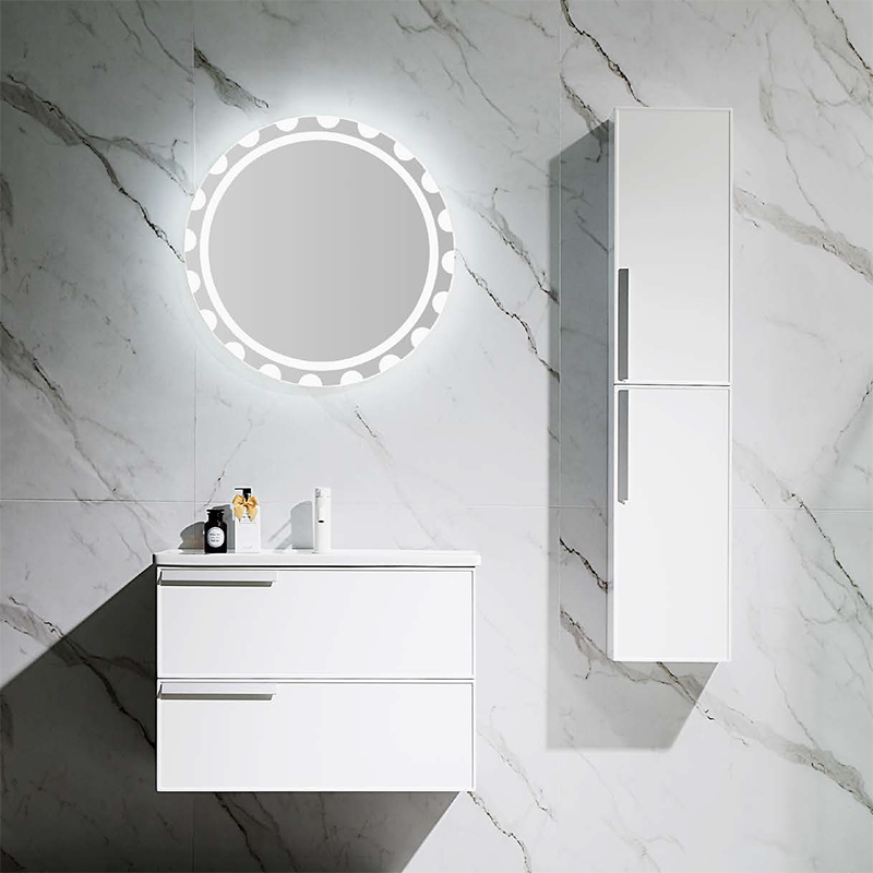 Free Combination Wall Mounted Bathroom Cabinet - Dura Series - Glossy white