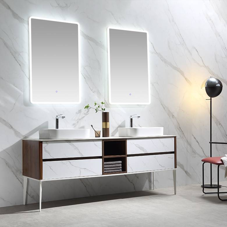 Floor Standing Bathroom Cabinet with Drawers - DOMINO Series