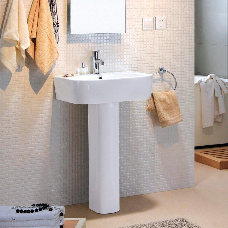 Pedestal Ceramic Washbasin - Evergreen Series