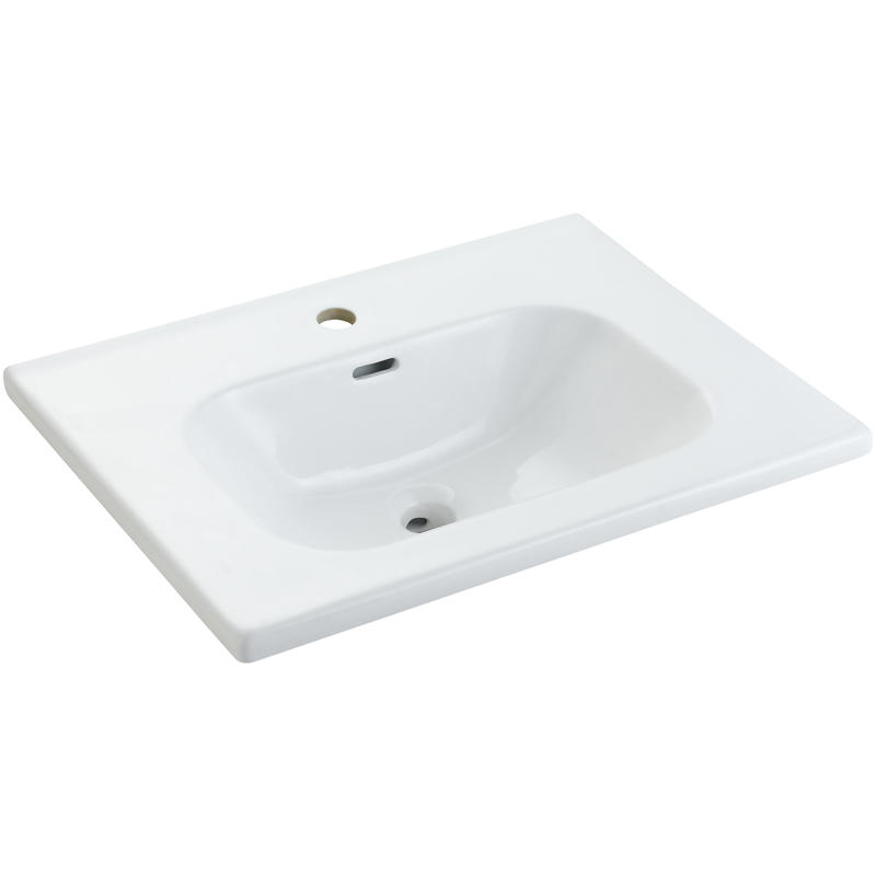 White Ceramic Basin For Cabinet - TONO Series